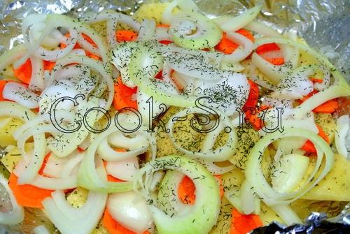 Шашлыки из рубленого мяса с овощами, пошаговый рецепт с фото