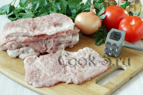 отбивные из свинины