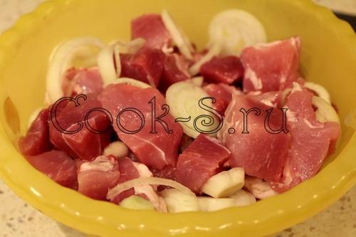 Классический шашлык из свинины, пошаговый рецепт с фото