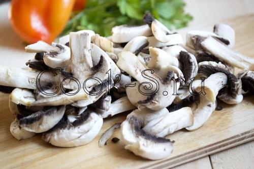 Баклажаны с грибами и перцем – кулинарный рецепт