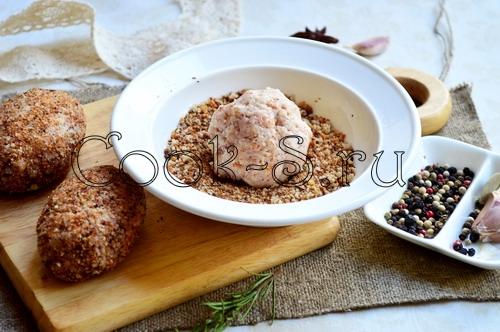 Котлета «Пастушья» из четырех видов мяса, пошаговый рецепт с фото