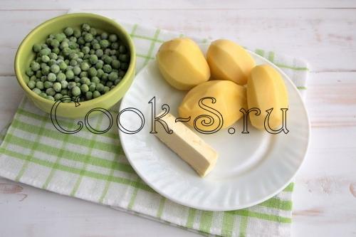 Фритата картофельная с горошком и мятой – кулинарный рецепт