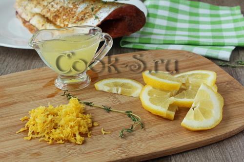 Горбуша с лимоном в духовке – кулинарный рецепт