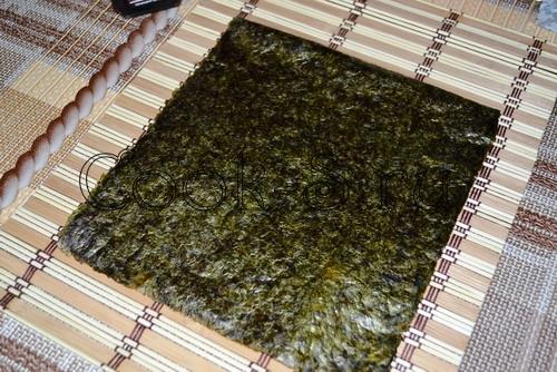 Суши и маки на Хеллоуин – кулинарный рецепт