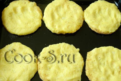 Ватрушки - черепашки (несладкие) – кулинарный рецепт