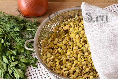 Котлеты из чечевицы, пошаговый рецепт с фото
