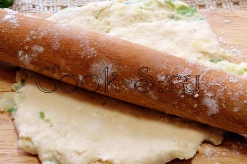 Лепешки с угрем, пошаговый рецепт с фото