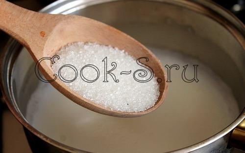Манная каша с клюквой – кулинарный рецепт