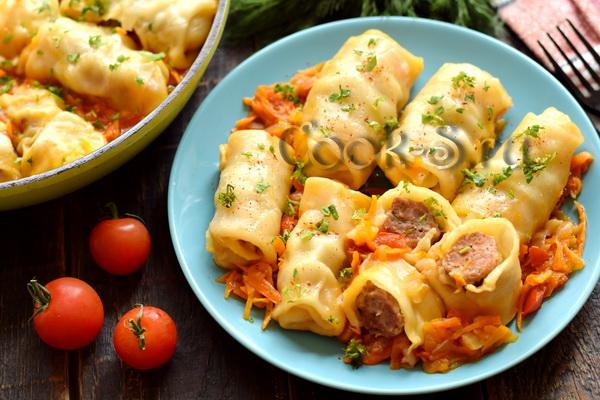 обед на сковороде рецепт с фото