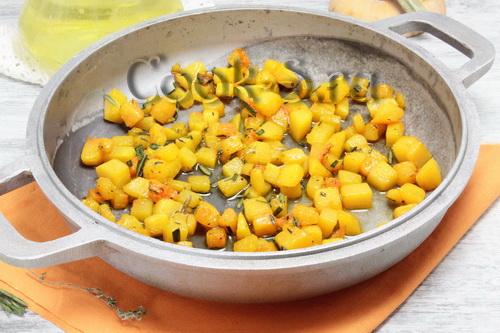 Суфле из тыквы с рисом – кулинарный рецепт