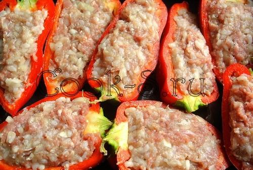 Перец, запеченный с сыром – кулинарный рецепт