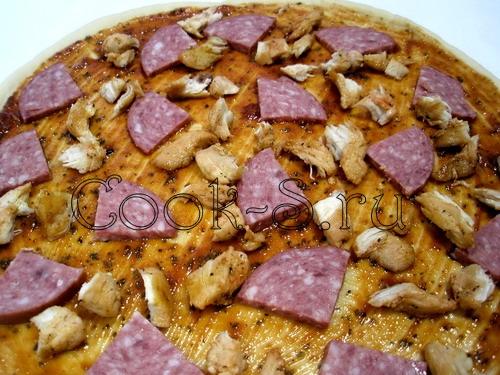 Пицца, пошаговый рецепт с фото