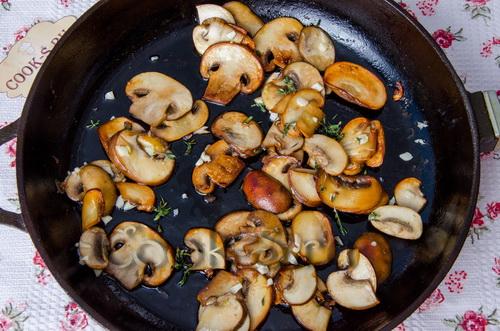 Тарт с тыквой и полентой – кулинарный рецепт