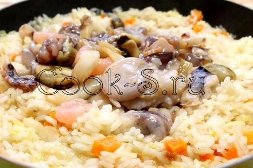 Гамбо с морепродуктами и рисом, пошаговый рецепт с фото