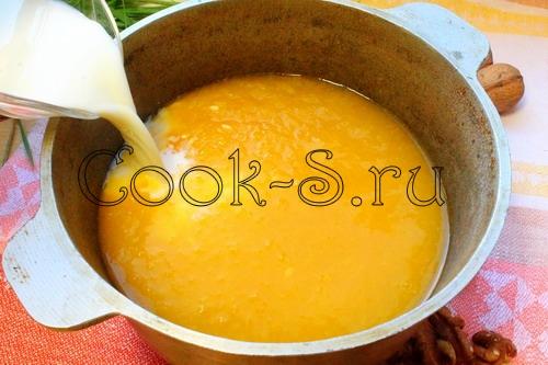 Тыквенная каша с кускусом – кулинарный рецепт