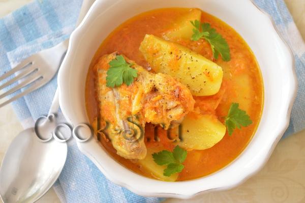 Жаркое с морепродуктами – кулинарный рецепт