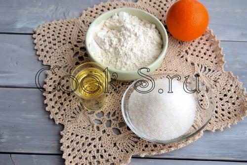 Апельсиновое печенье в СВЧ печи – кулинарный рецепт