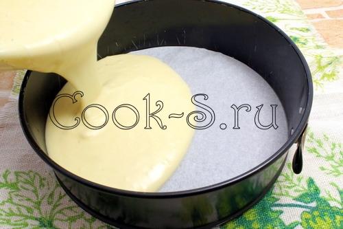Бисквит на горячем молоке