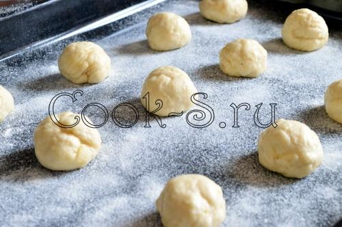 Картофельные булочки для гамбургеров, пошаговый рецепт с фото