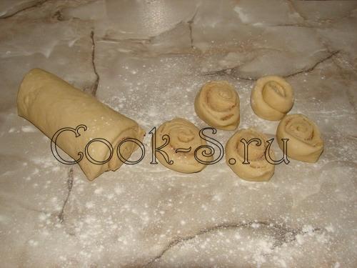 Булочки с корицей, пошаговый рецепт с фото