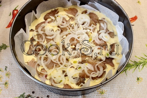 Быстрый куриный пирог – кулинарный рецепт