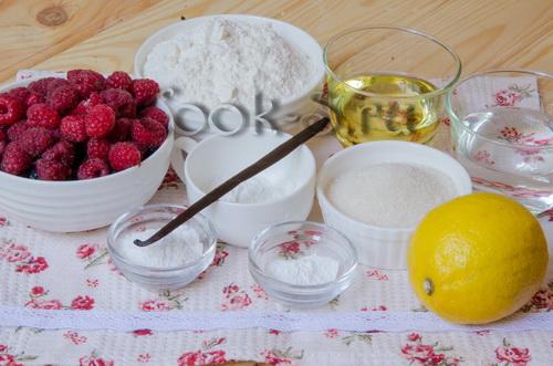 галета с ягодами - ингредиенты