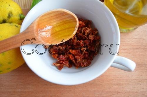 Суфле из курицы с вялеными помидорами и базиликом – кулинарный рецепт