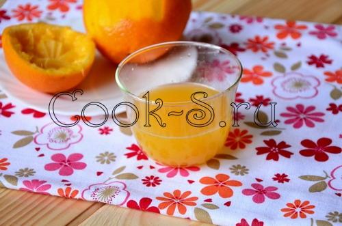 Блинная бабочка с апельсином – кулинарный рецепт