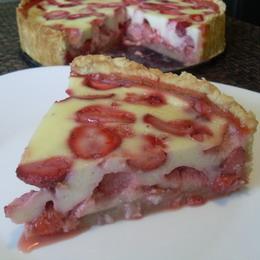 Фото рецепт клубничный пирог — 9