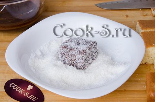 Ламингтоны – кулинарный рецепт