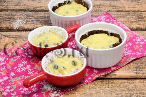 Кексы с черникой – кулинарный рецепт
