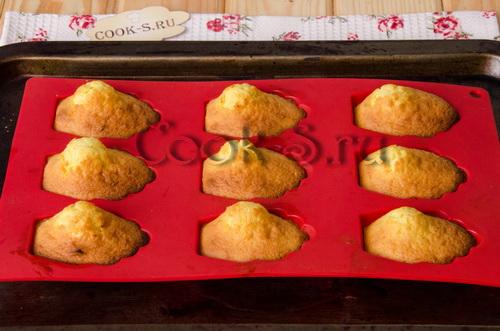 Печенье Мадлен лимонное , пошаговый рецепт с фото