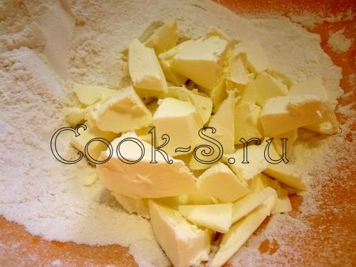 """Печенье песочное """"Сладкая парочка"""" – кулинарный рецепт"""