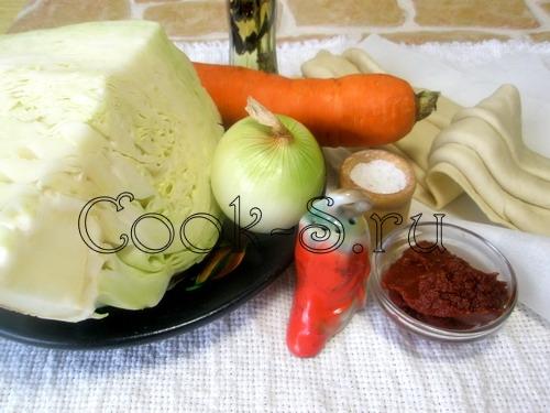 """Салат из белокочанной капусты и мяса """"Не верю"""" – кулинарный рецепт"""