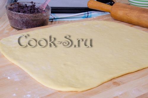 Сахарные плюшки с маком - рецепт пошаговый с фото