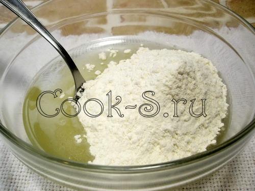 """Печенье постное """"Похрустим?"""" – кулинарный рецепт"""