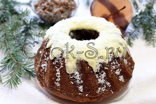 Кекс рождественский, пошаговый рецепт с фото