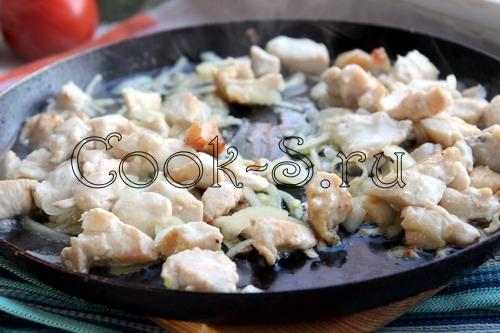 Пирог с курицей – кулинарный рецепт
