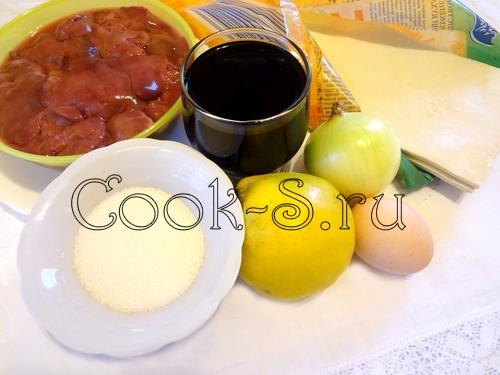 """Слойки с колбасой """"Цветочное настроение"""" – кулинарный рецепт"""