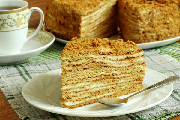 """Заварной торт """"Необычная нежность"""" – кулинарный рецепт"""