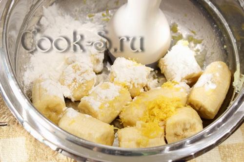 "Пирог ""Бананово-морковный"" – кулинарный рецепт"