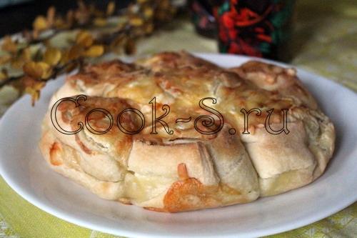Тыквенно-творожный тарт – кулинарный рецепт