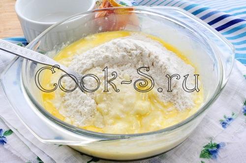 Творожное печенье с вишней, пошаговый рецепт с фото