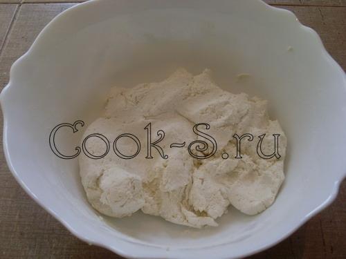 Быстрые творожные булочки со взбитым медом, пошаговый рецепт с фото