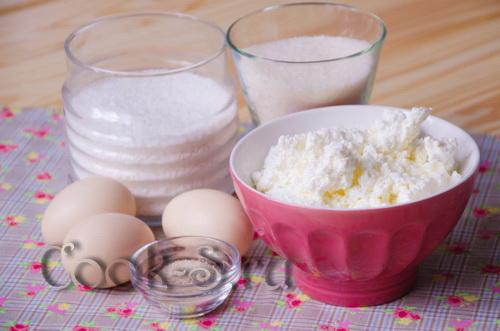 Сырники-пышки из духовки – кулинарный рецепт