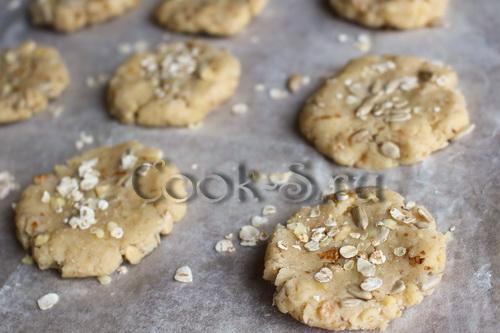Бананово-злаковое печенье – кулинарный рецепт
