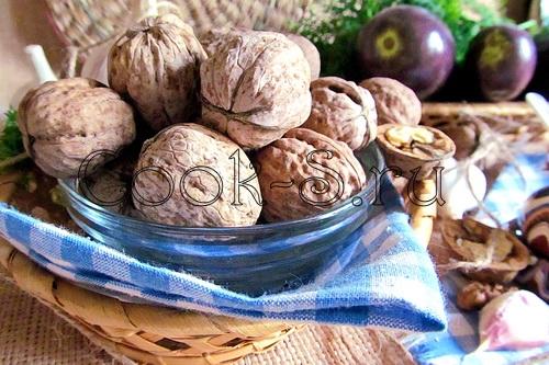 Сациви из баклажанов – кулинарный рецепт