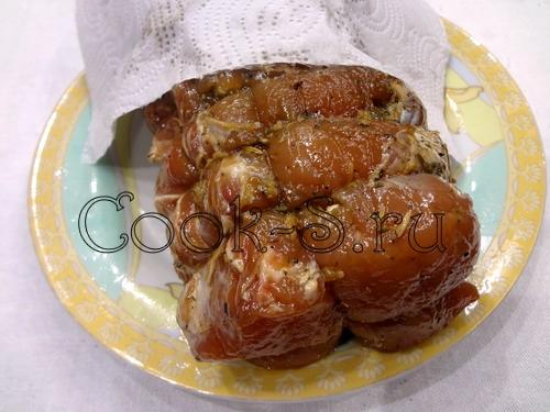 Свинина, тушенная в лечо – кулинарный рецепт