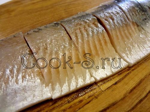 Маринованная сельдь, пошаговый рецепт с фото
