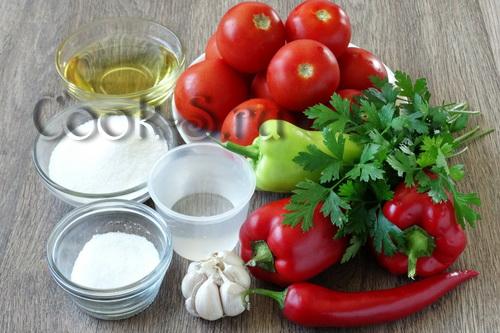маринованные помидоры быстрого приготовления - ингредиенты
